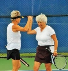 Tênis - Terceira idade