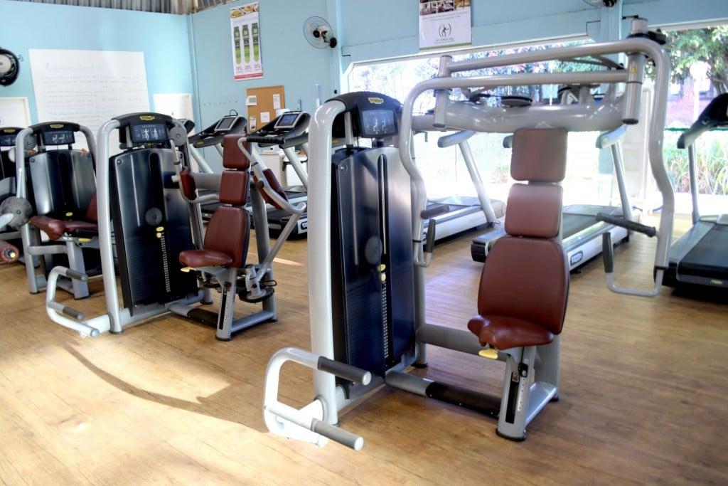 Aptidão Física - Aparelhos de atividade física