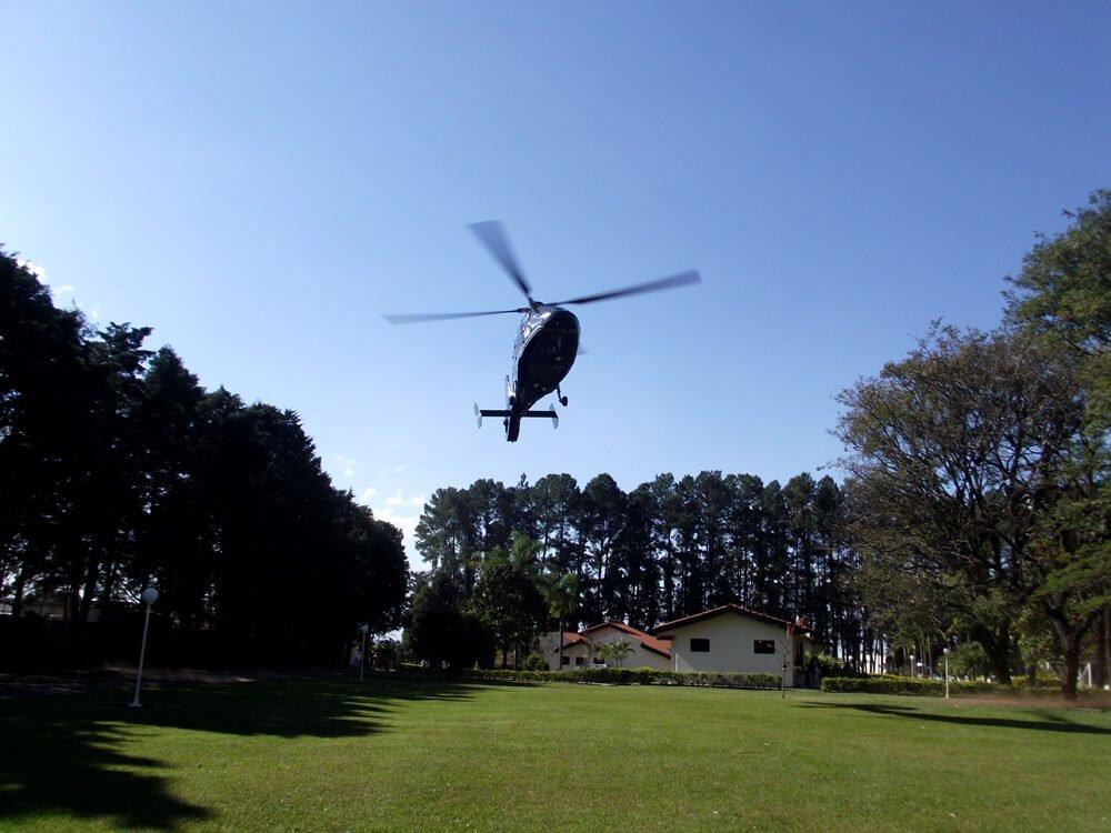 Estrutura do Spa medico Helicóptero