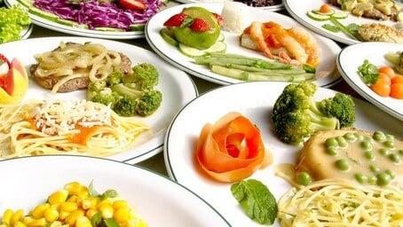 pratos saudáveis