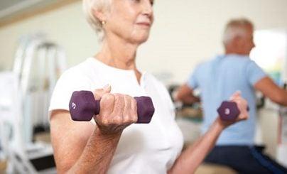 Musculação para idosos - spa sorocaba - spa médico - muito mais que um spa