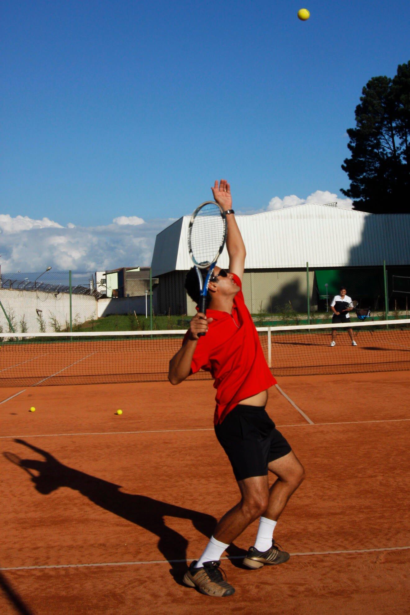 Campo de Tennis - Aula de Tennis - No Spa Medico - Spa Sorocaba