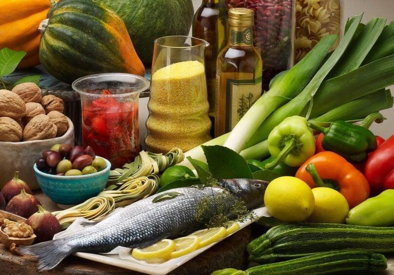 dieta mediterrânea