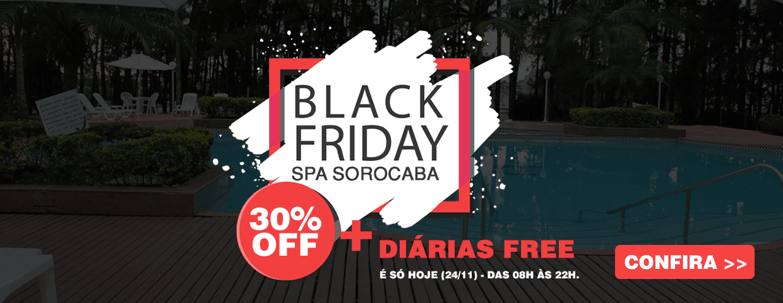 black friday - SPA Sorocaba 30 off