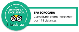 Selo tripadvisor Spa Sorocaba